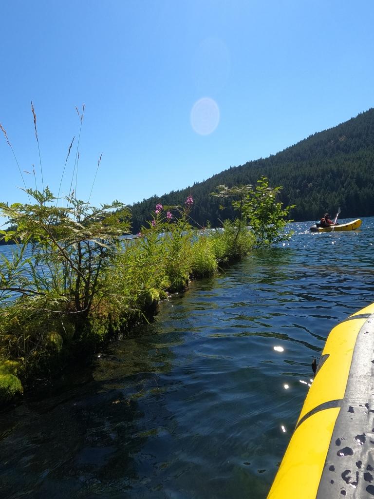 Kayaking on Mountain Lake