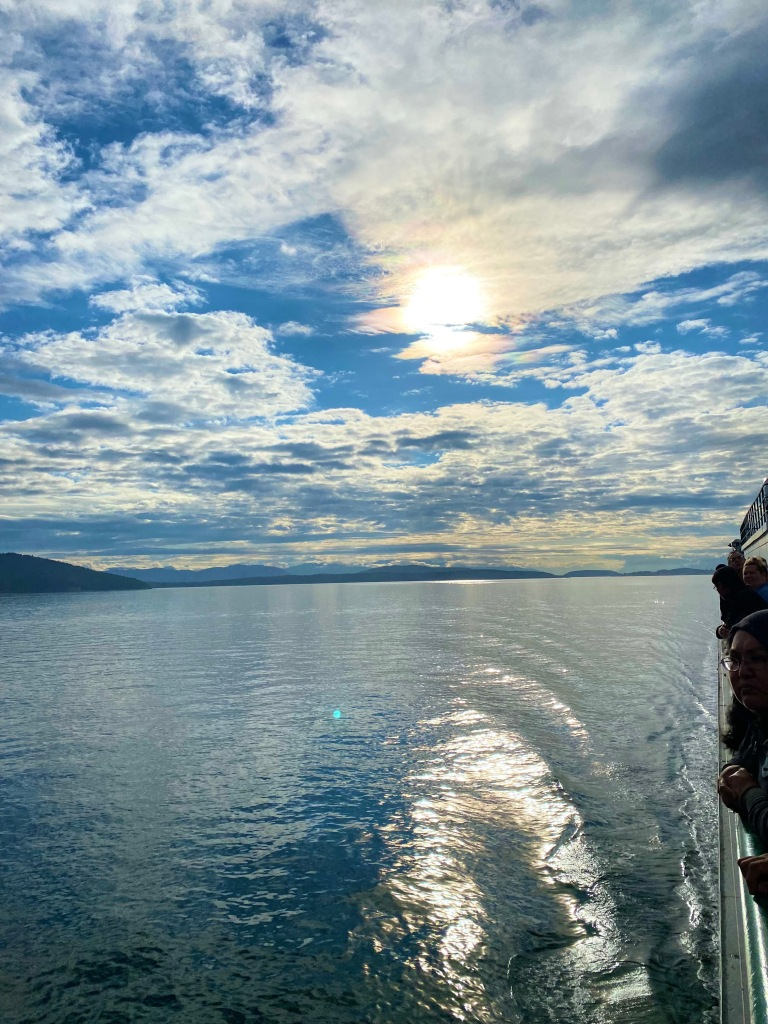Ferry Ride to Orcas Island